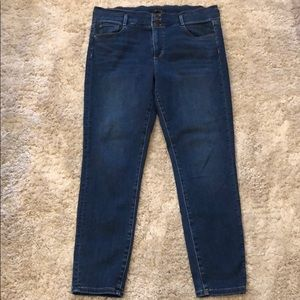 "Ann Taylor ""The High Rise Skinny"" Medium Wash Jean"